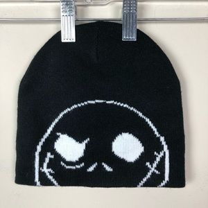 Disney Jack Skellington knit Hat Beanie Black